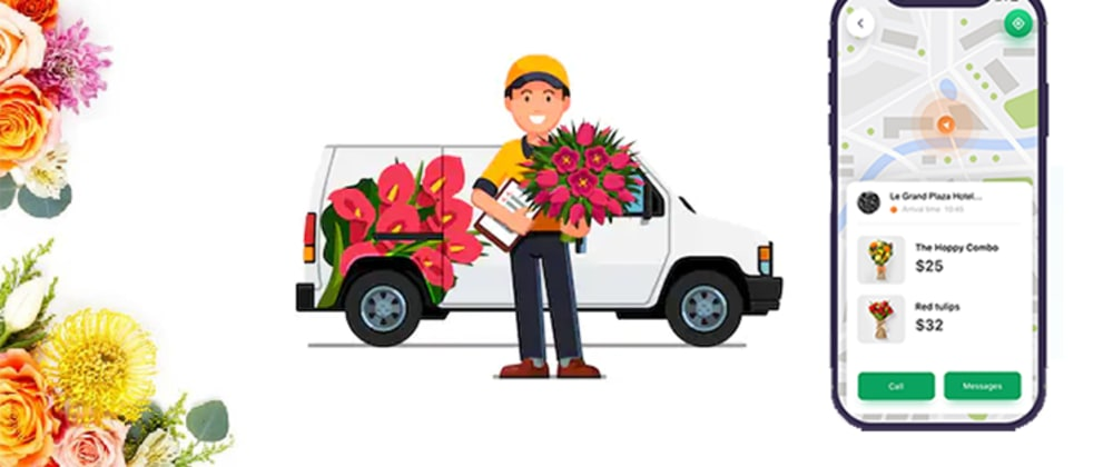 Cover image for 10 Must-have Features in Flower Delivery App