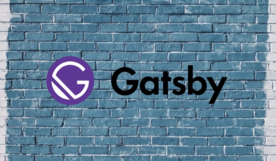 Gatsby logo on the wall