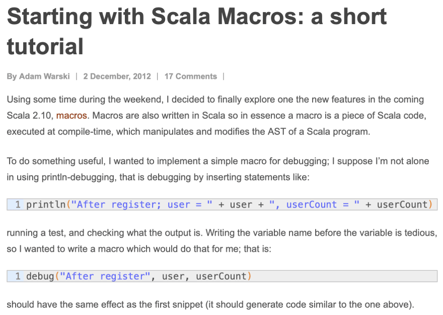 8 years of Scala and counting