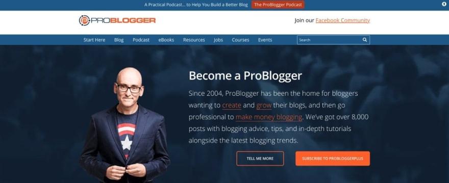 ProBlogger website