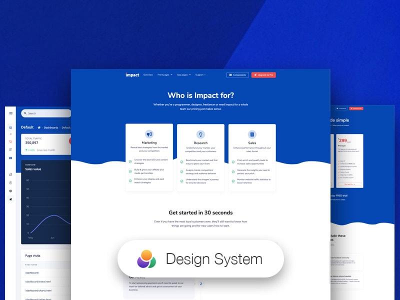 impact free dashboard