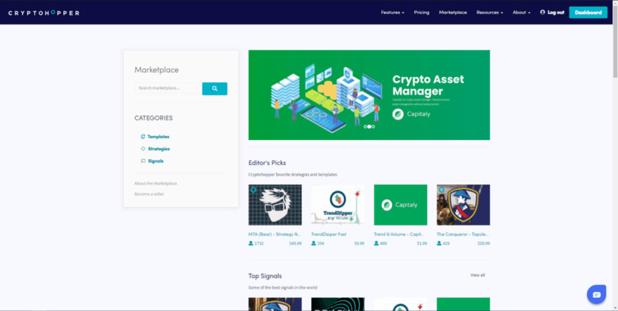 Cryptohopper Copy & Social Trading