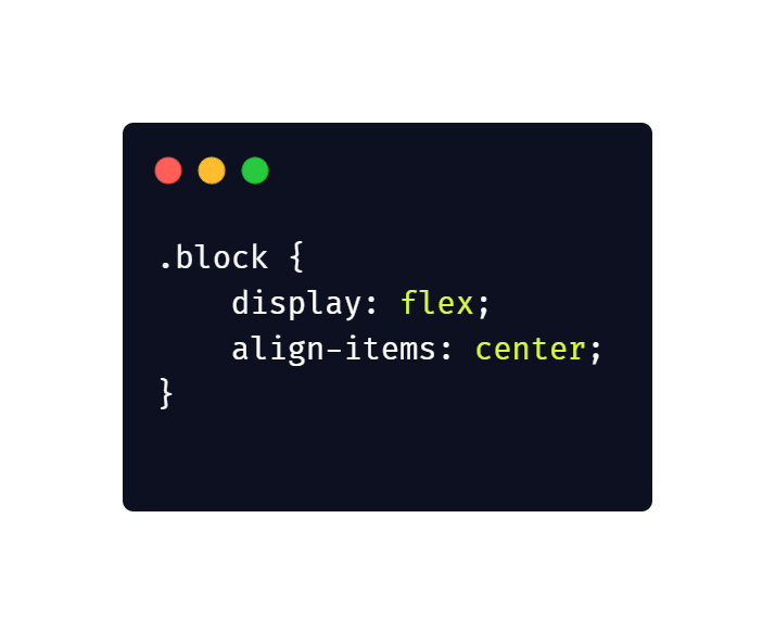 Vertically align any elements using only CSS