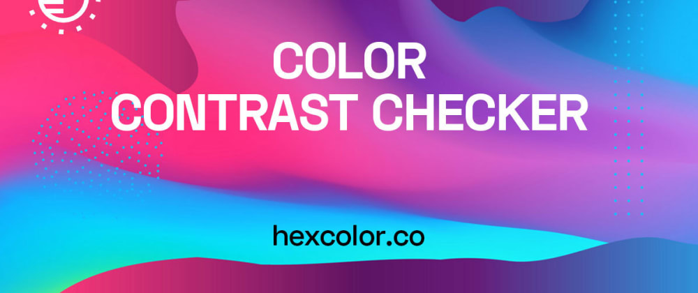 Cover image for Color Contrast Accessibility Checker (WCAG)