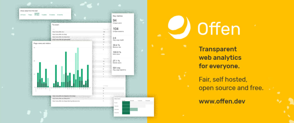 Cover image for Try fair web analytics