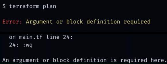 v12 Error