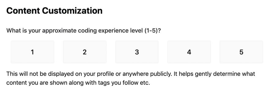 Content Customization
