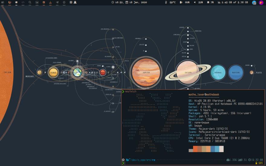 Bspwm Desktop