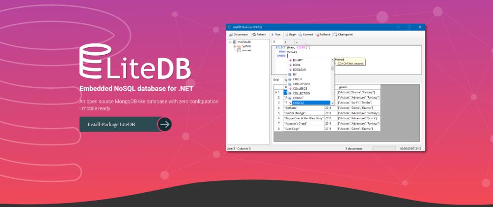 Cover image for [Pt-BR] LiteDB – Banco de dados NoSQL Brasileiro