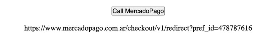 MercadoPago Link