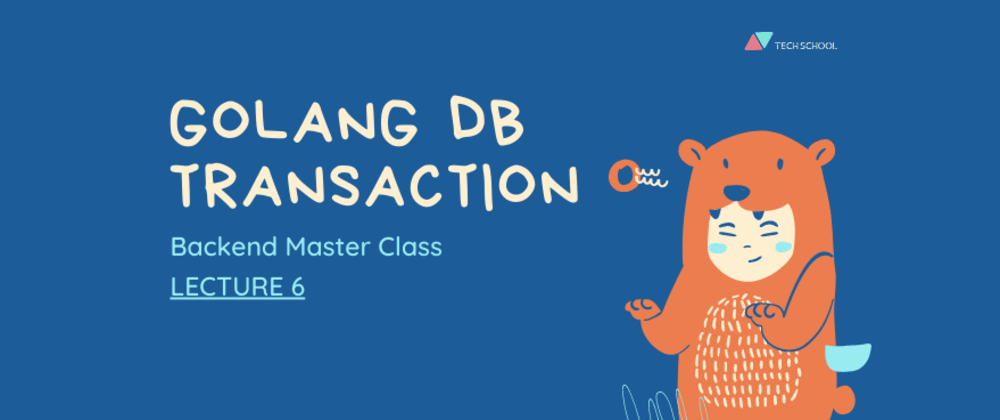 Cover image for A clean way to implement database transaction in Golang