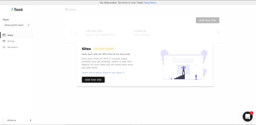 add-site-to-fleek