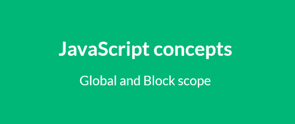 Cover image for The horror-scope - Global, Local and Block scope in JS