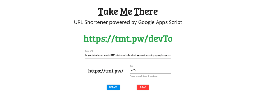Cover image for Build a URL Shortening service using Google Apps Script