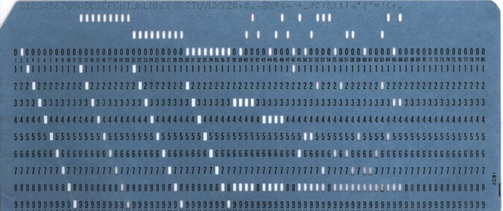 Cover image for Stop Using Computers, and Start Using Punchcards