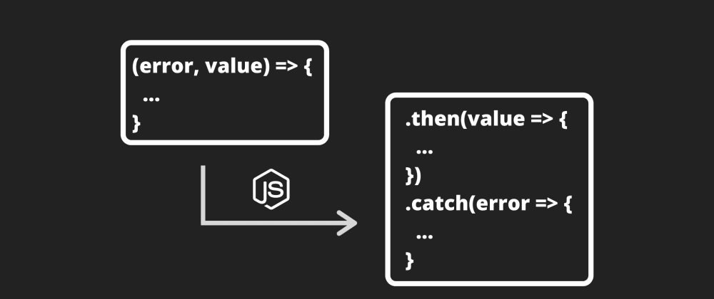 Cover image for Converting Callbacks to Promise approach on Node.js