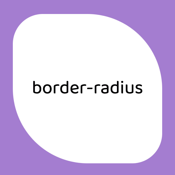 example of two value border-radius