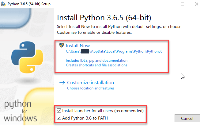 Python Installation Step