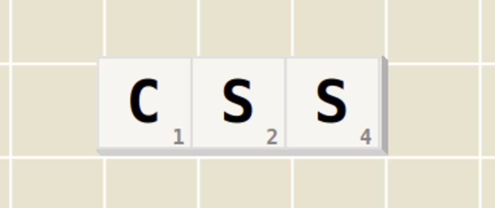 Cover image for The CSS 'Scrabble' writer — The next gen typewriter