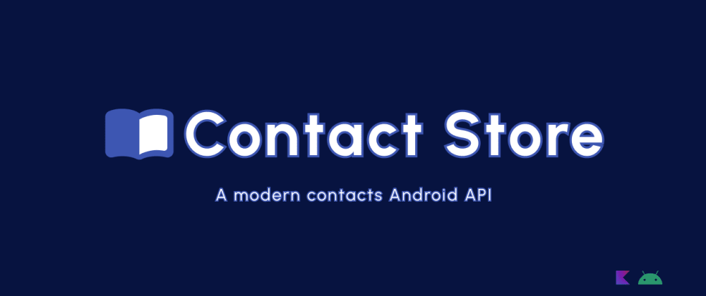 Cover image for I wrote an API in Kotlin +Flow to make Android Contacts straightforward to use (no ContentProviders)