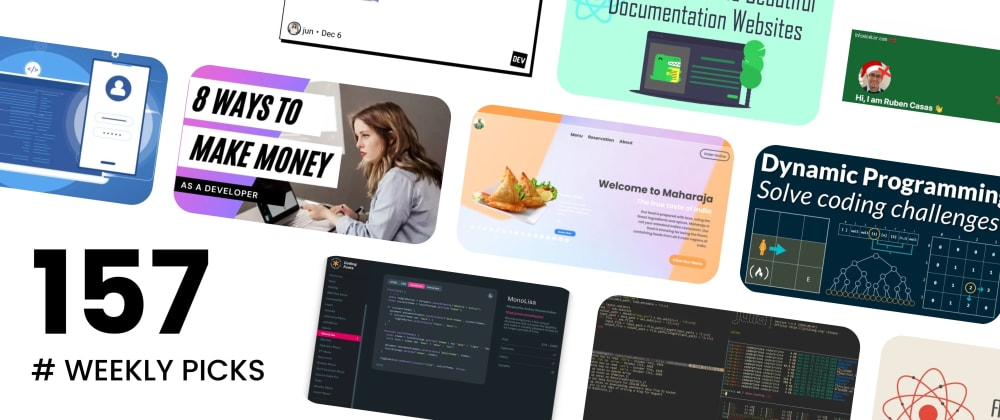 Cover image for 🔥 What's Hot in Web Development? — Weekly Picks #157