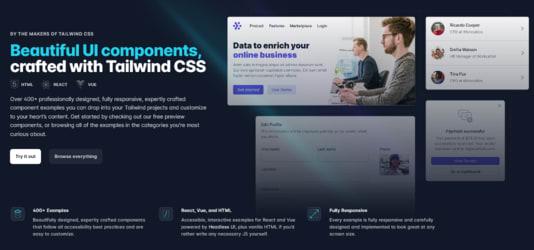 Tailwind UI website
