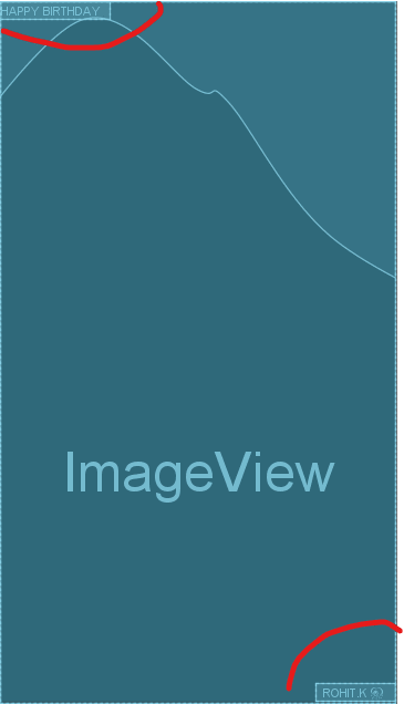 positioning view