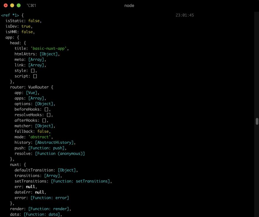 Nuxt.js SSR