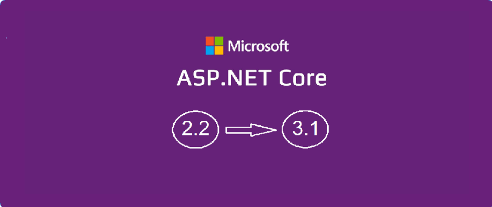 Cover image for Migration from Asp.Net Core 2.2 to 3.1 — Real project