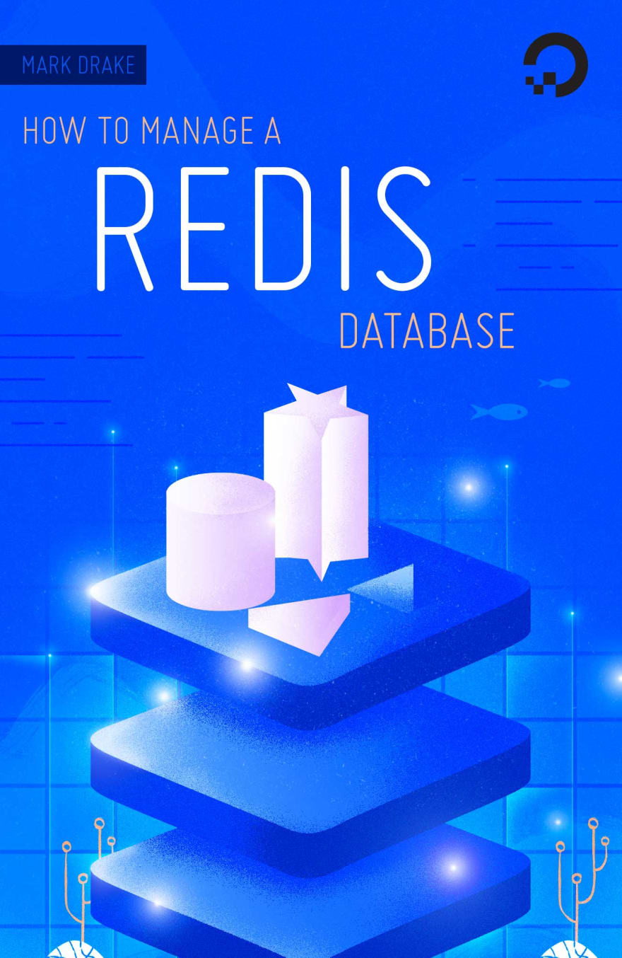 """""""How To Manage a Redis Database"""" eBook cover image"""