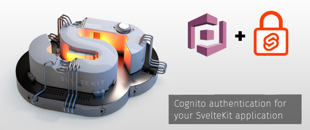 Cover image for Cognito Authentication for your SvelteKit app