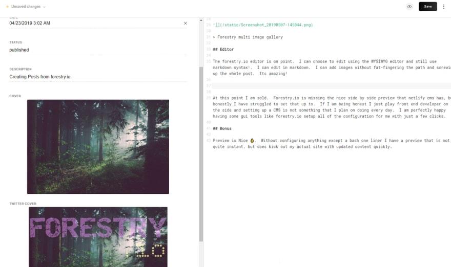 forestry editor