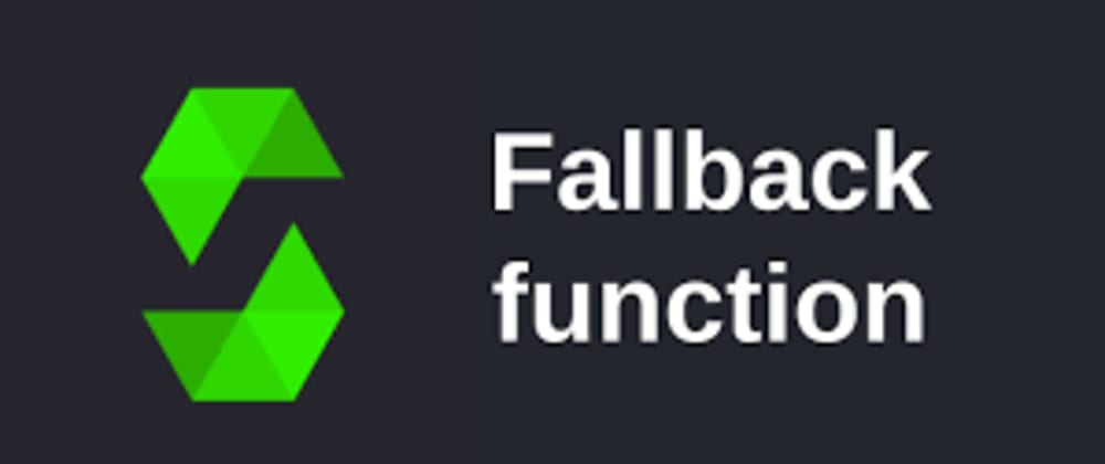 Cover image for Fall Back Functions in Solidity