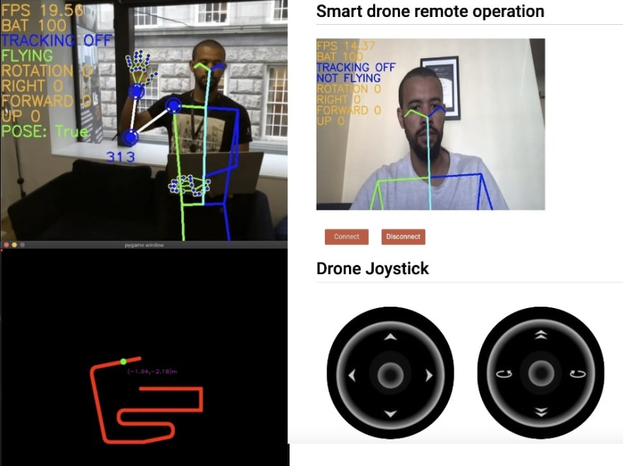 Smart drone demo