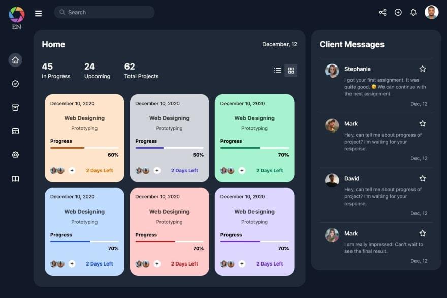Salvia-kit dashboard