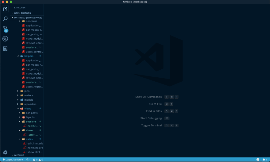 vscode-icons at work in a text editor