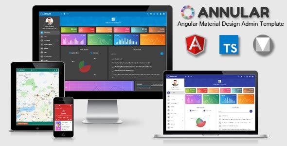 annular angular material admin dashboard