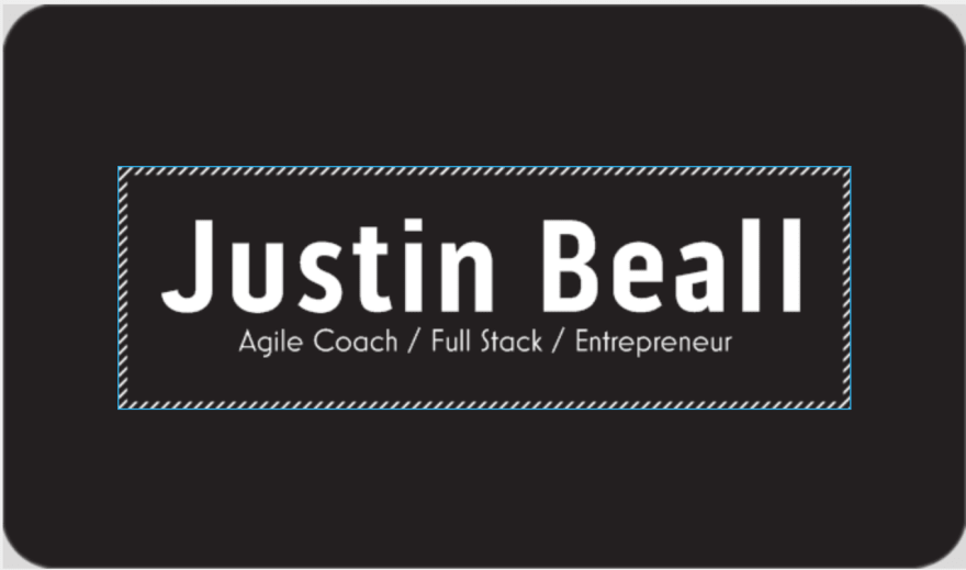 Font Business Card
