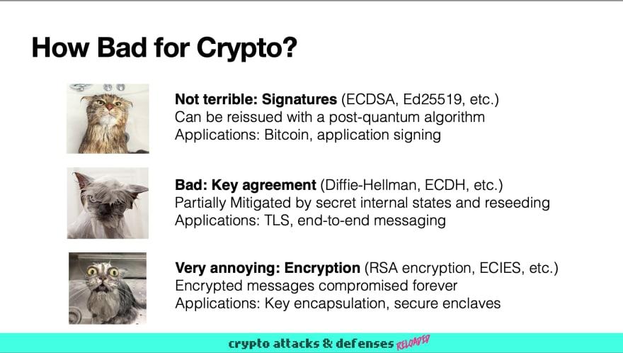 Quantum Computers: how bad for Crypto? © JP Aumasson