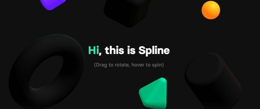 Cover image for Spline - A design tool for 3d Web Experience