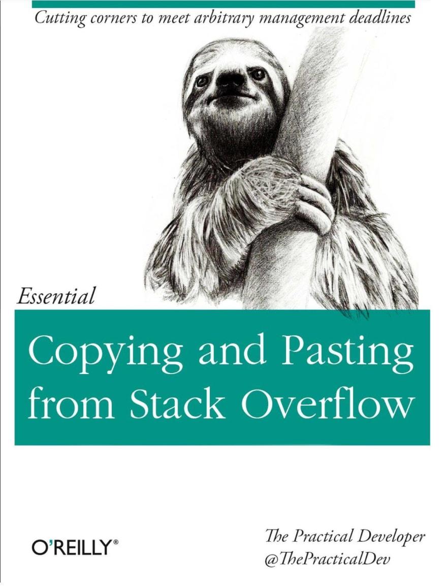 Fake Programming Book Meme
