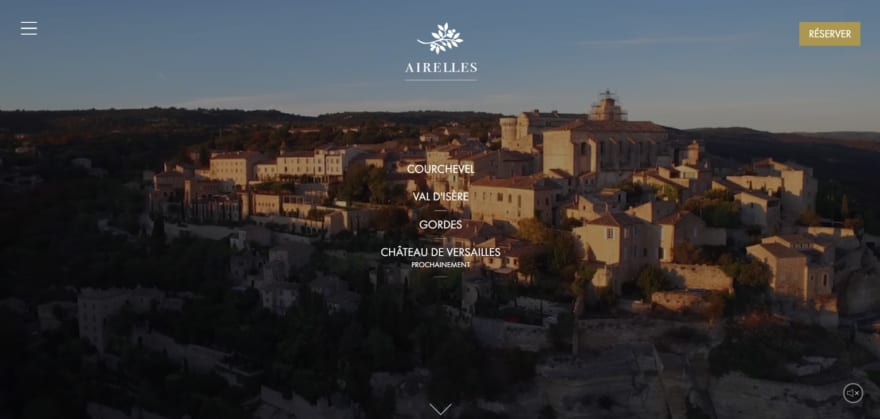 The Airelles website doesn't use the effect at all, but it's still listed as a parallax website on awwwards. [Check it out now](https://airelles.com/fr)!