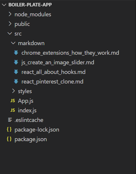 markdown-folder