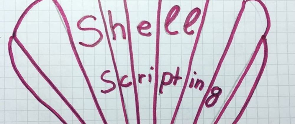 Cover image for Write your first shell script