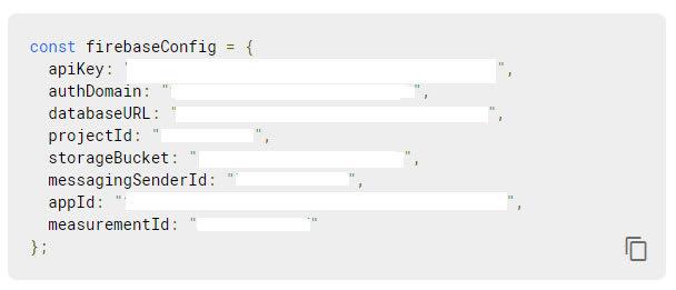 Javascript Config