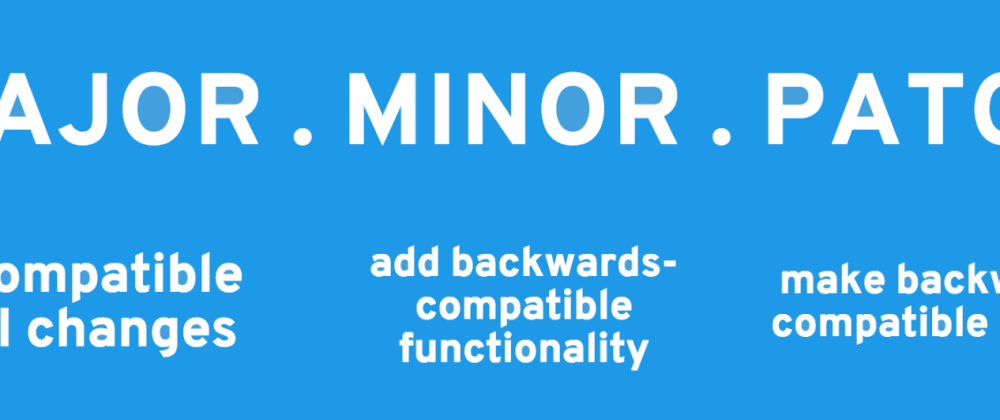 Cover image for Understanding Semantic Versioning 2.0 (SemVer)