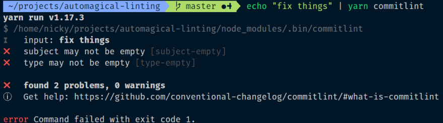 A string that fails the commitlint checks