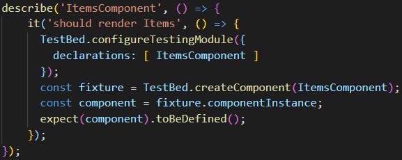 Angular render test in the Jasmine framework