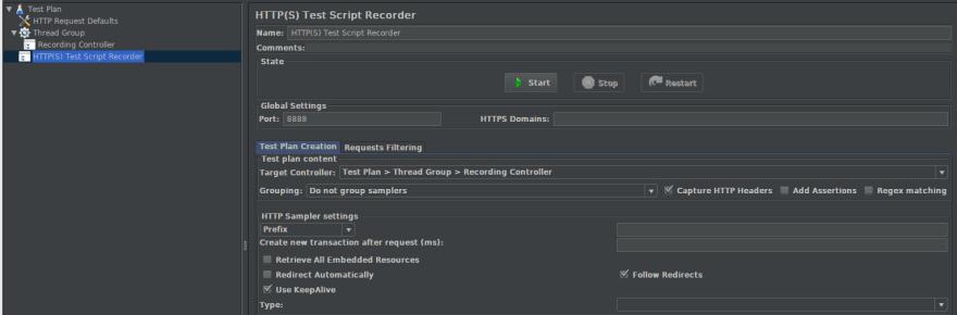 Test Script Recorder