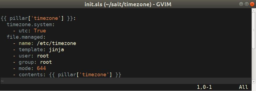 SaltStack plugin for Vim